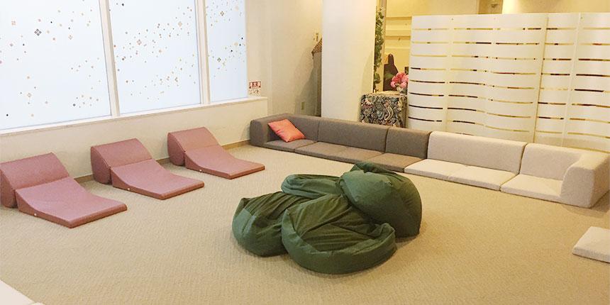 女性専用・休憩ゾーン
